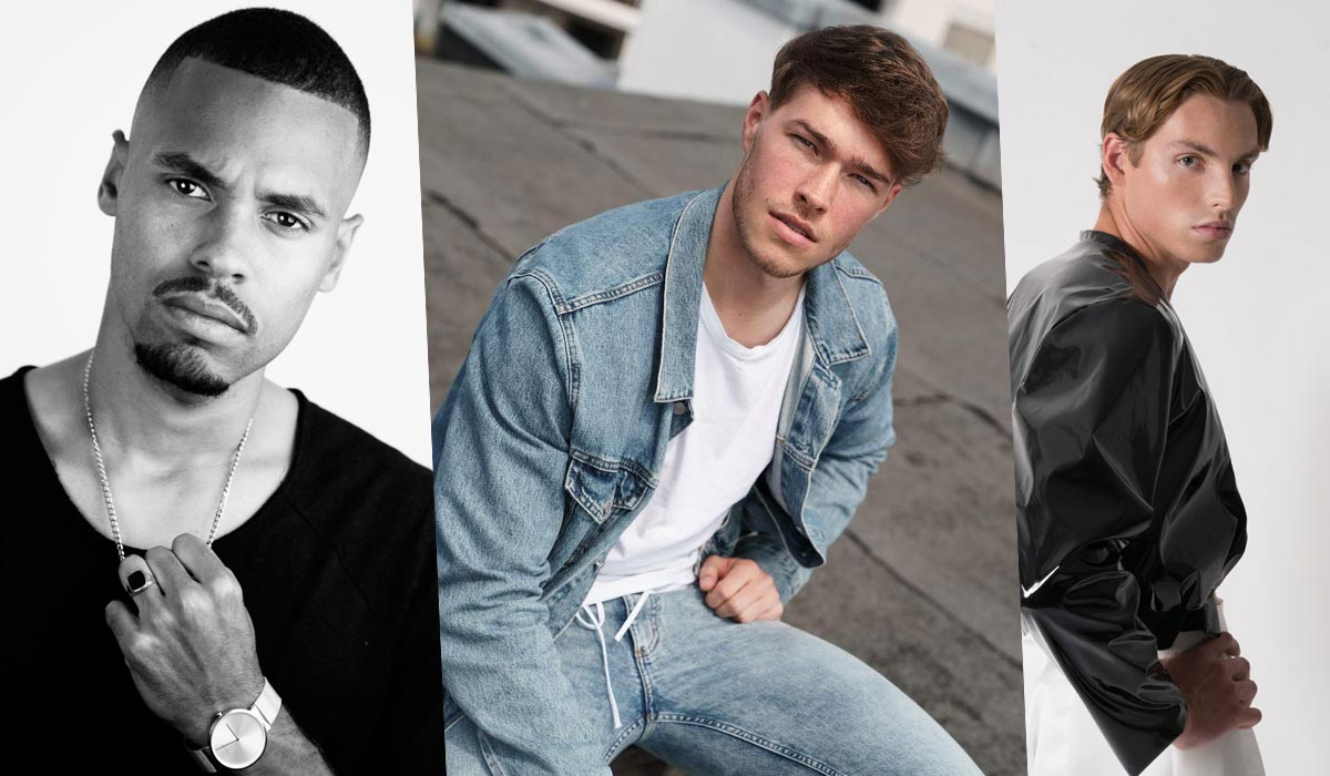 Modelli da uomo: Settembre Update + New Face Ben, Jonathan & Julian