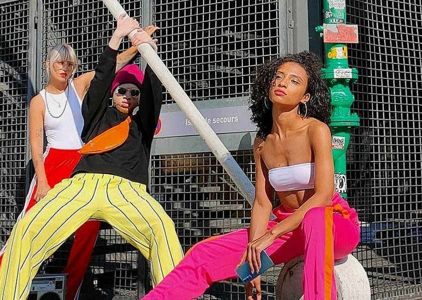 Oppo Mobile x Mariéme x Boris: stile urbano, colorato e vita parigina
